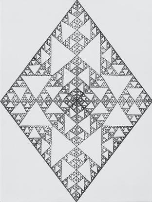 Serpinski's Diamonds