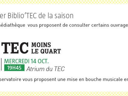 Découvrez le programme du mercredi 14 octobre