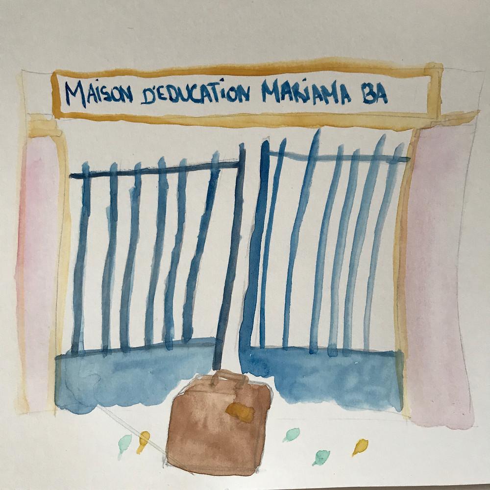 Portail Maison d'ÉDUCATION Mariama Bâ