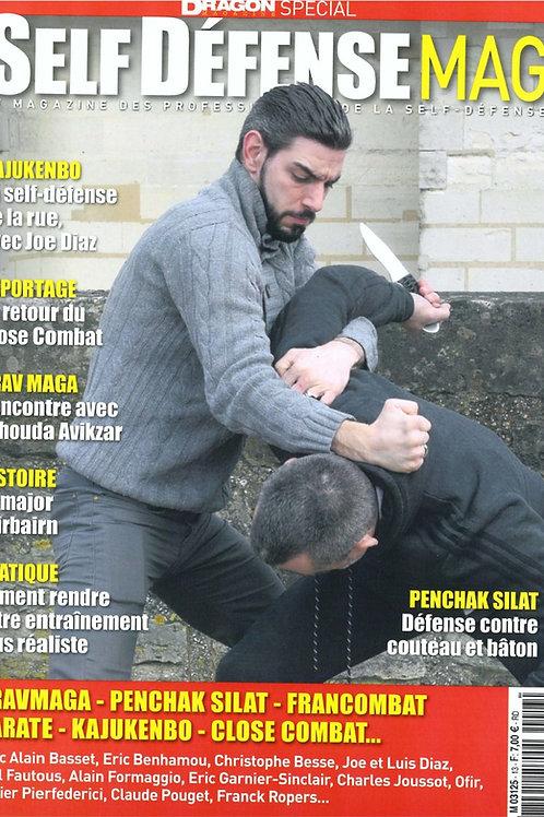 SELF DEFENCE MAG #13 Avril-Mai-Juin 2018