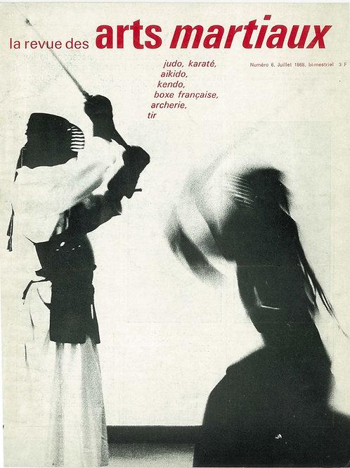 Revue Arts Martiaux #6 Juillet 1968