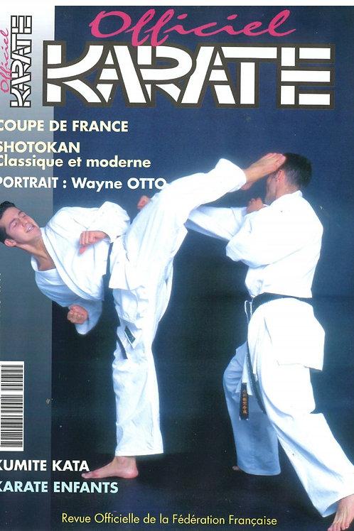 KARATE OFFICIEL #79 Septembre 1995