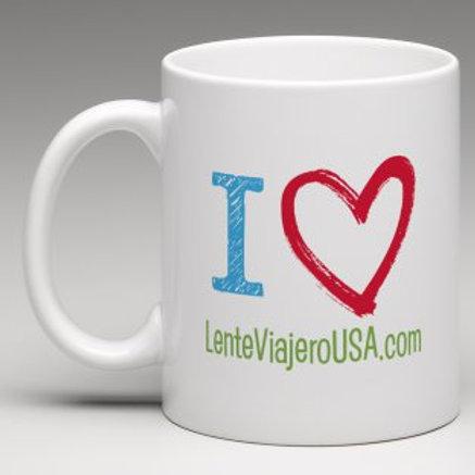 Mug / Lente Viajero USA