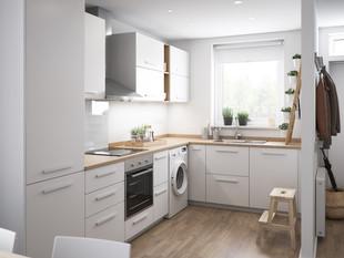 BoKlok on the Brook_2 bed house_kitchen.