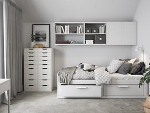 BoKlok on the Brook_2 bed house_bedroom_