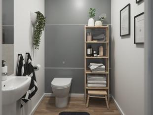 BoKlok on the Brook_3 bed house_bathroom