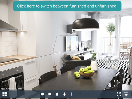 Take a sneak peek of our new apartments