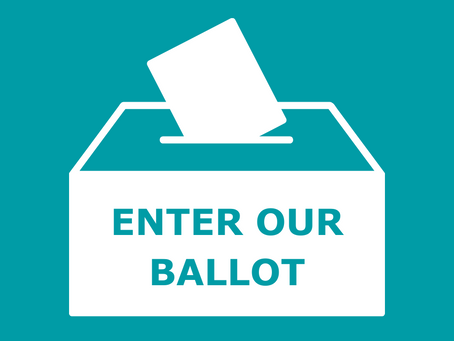 Our ballot is open!