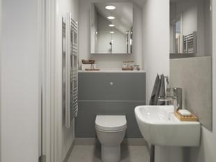 BoKlok on the Brook_2 bed house_bathroom