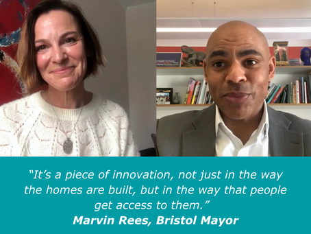 We get the Mayor's take on our first UK residential scheme