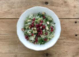 Salade de Choucroute Noisette et Pomme Grenade