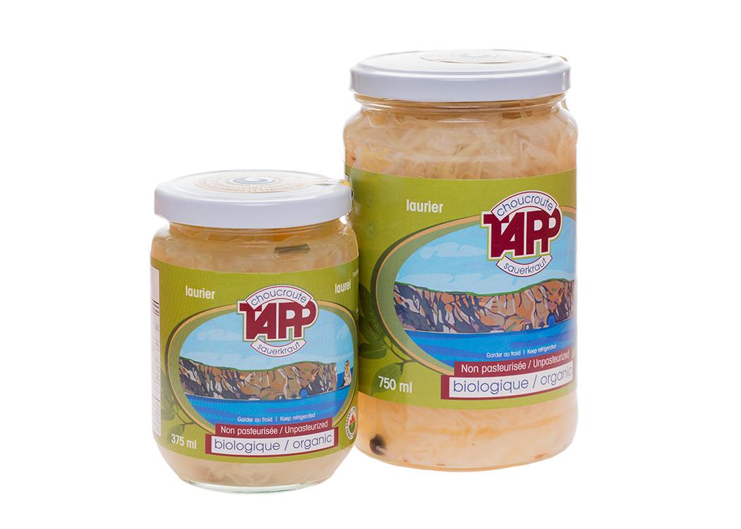 Choucroute laurier Les Produits Tapp