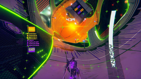 ESC futuristic sports game screenshot