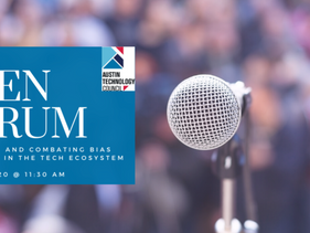 Open Forum: Identifying and Combating Bias and Racism in the Tech Ecosystem