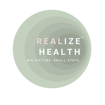 REALize health logo  TM transparent back