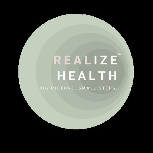 REALize health logo  TM transparent back