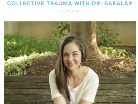 Trauma and health with Dr. Bakalar