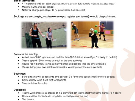 Have fun and keep fit with our workplace challenge for school staff!