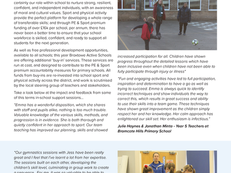 Raising the quality of Physical Education