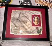 GIAF/Gift in a Frame - Graduation Gift w/Poem - Larrge