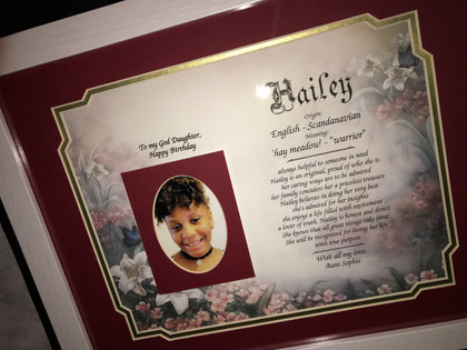 GIAF- LARGE- HAILEY'S NAME MEANING