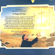 GIAF/Gift in a Frame - Prayer - Large (pastoral gift)