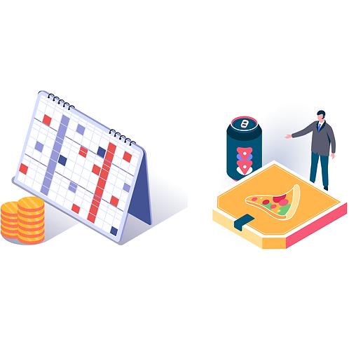 Plan marketingu początkującej firmy + logo
