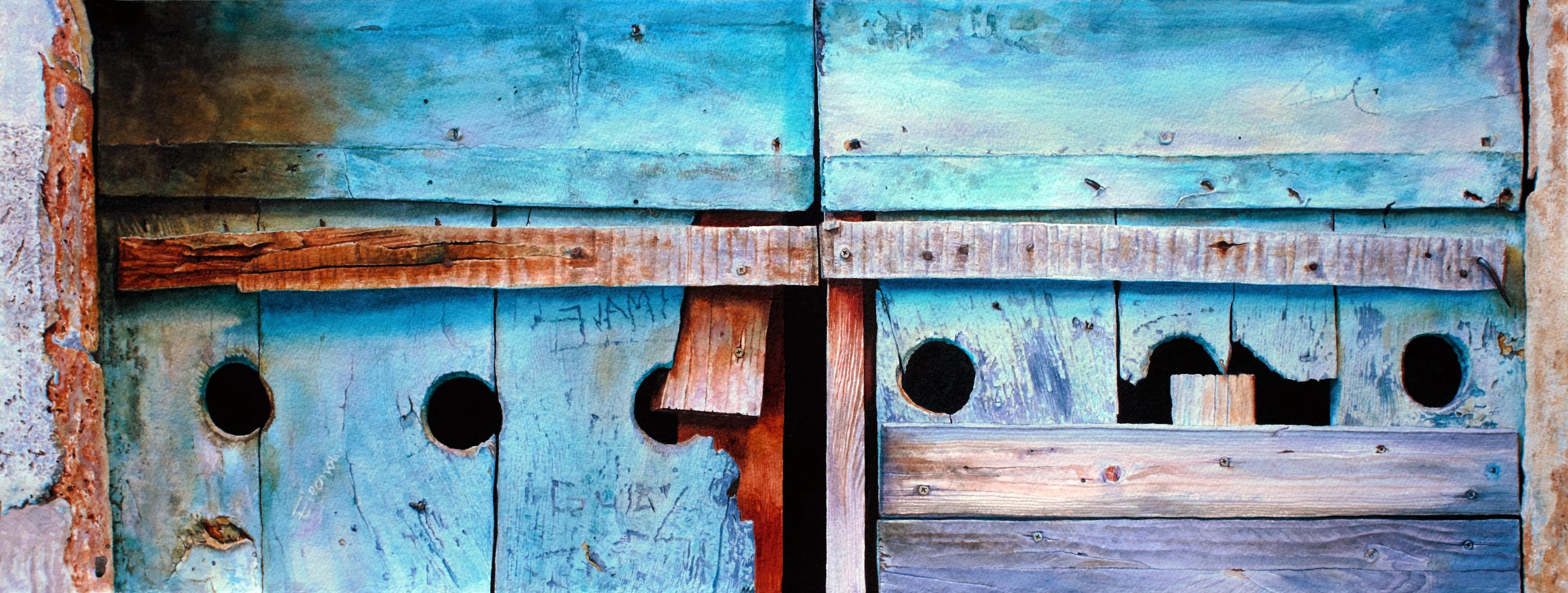 """""""Farnese Barn Door 2a"""""""
