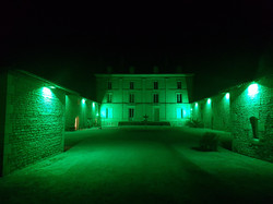 Eclairage facade LED