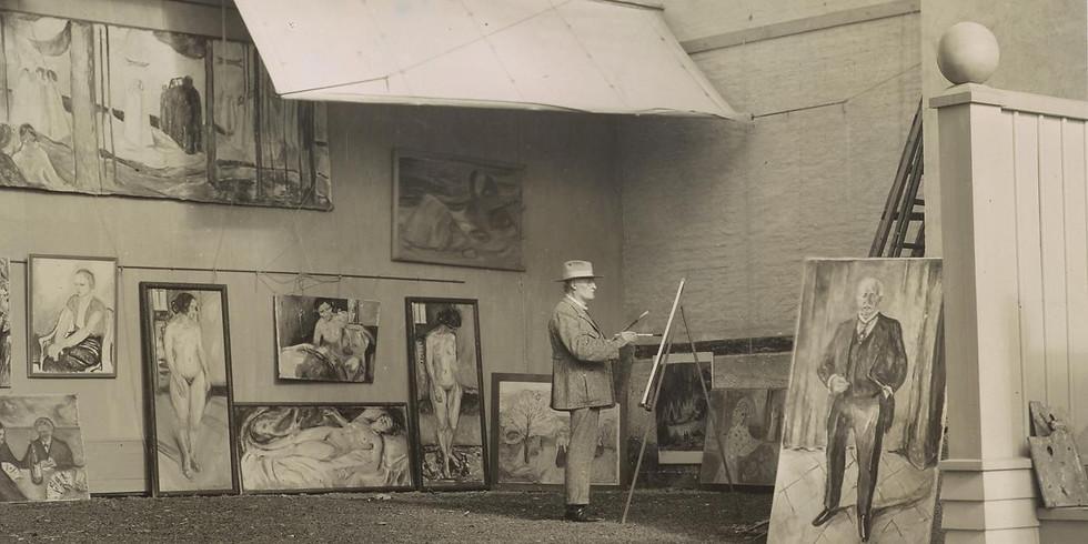Omvisning i Munchs hage og atelier på Ekely