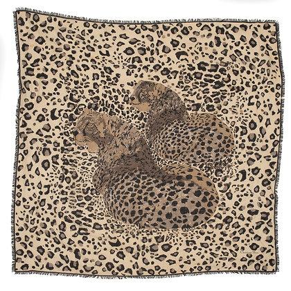 Dior Leopard Scarf