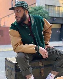 Vintage Brooks Brothers varsity jacket �