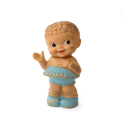 Vintage Alan Jay Waving Rubber Squeak Doll