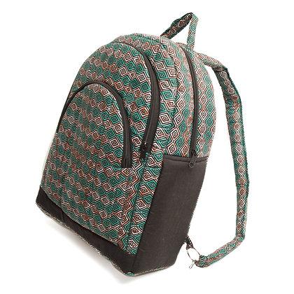Handmade Ikat Backpack