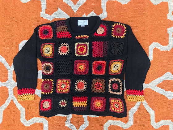 90s The Limited Hand-knit Sweater