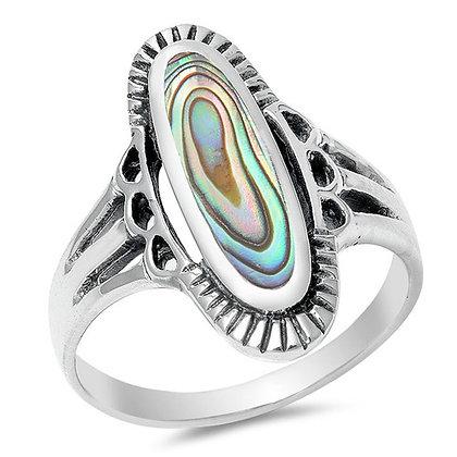 She Sells Sea Shells Abalone Ring