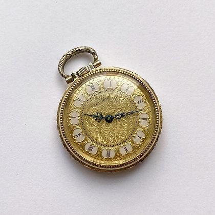 Vintage Ornate Pocket Watch Clock by Endura