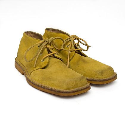 90s Gianni Versace Suede Desert Boots