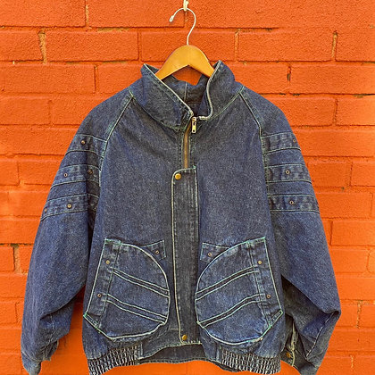80s Iona Lined Demin Jacket