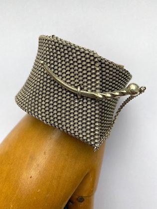 John Hardy Sterling Mesh Bracelet