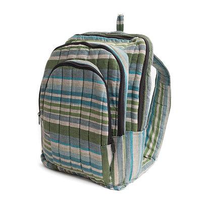 Handmade Striped Backpack
