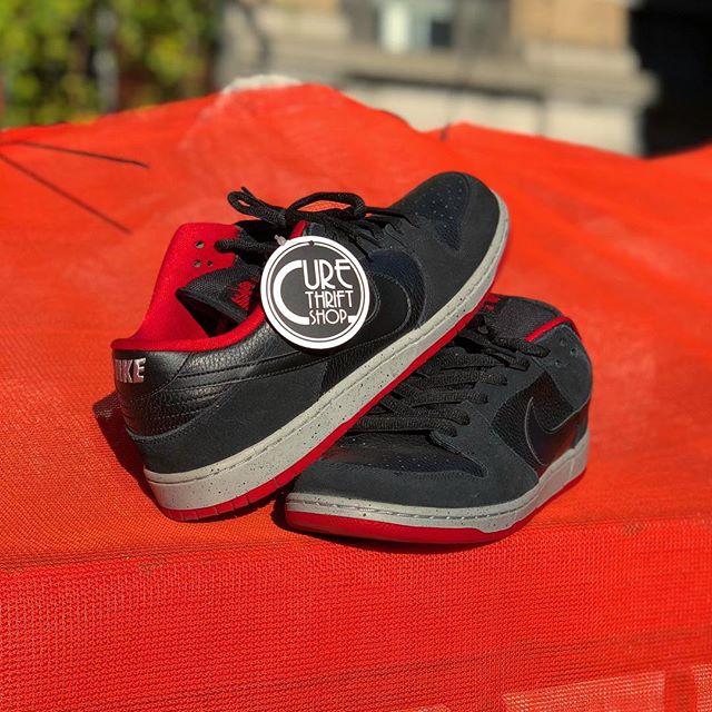 🚧 Nike Dunk SB • Black Cement 🚧   