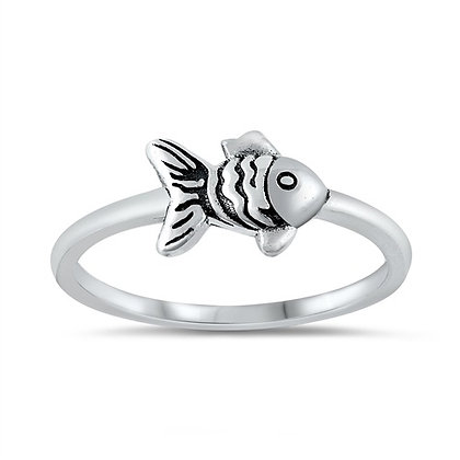 Goldie the Goldfish Ring
