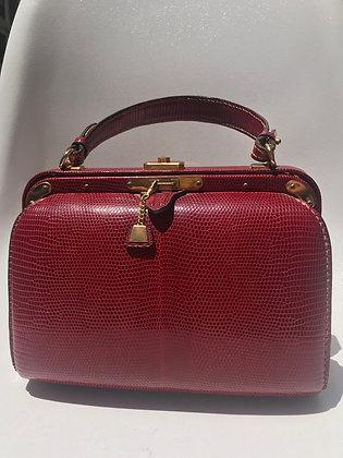 Fernande DesGranges 50s Red Handbag