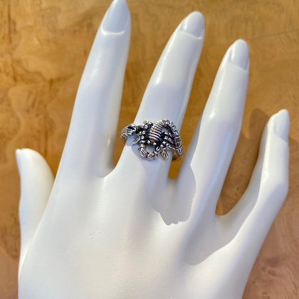 Sterling Silver Scorpion Ring