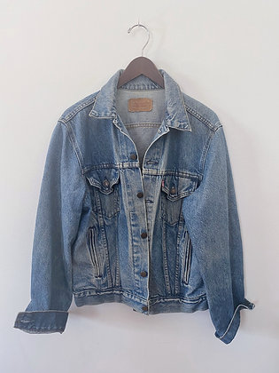 80's Levi's Cool Guy Trucker Jean Jacket Medium/Large 42R
