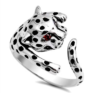 Seeing Spots Leopard Ring