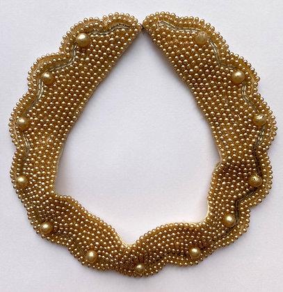 Vintage Beaded Delco Japan Collar/Bib