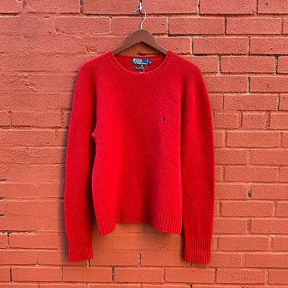 Polo Ralph Lauren Red Wool Sweater