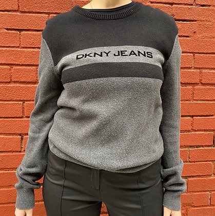 00s DKNY Mall Rat Sweater